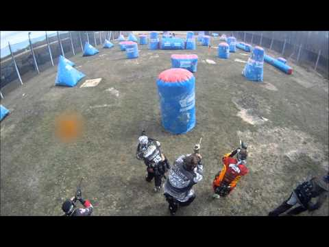 Canadian Paintball Open Speedball Day Manitoba Abusement Park