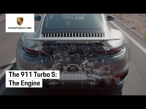 Porsche 911 Turbo S - The Engine