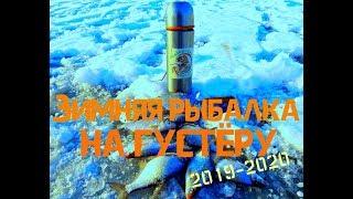 Зимняя рыбалка на густёрку Ловля со льда белой рыбы Ловля на крючок со льда