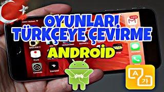 Android Oyunlara Türkçe Yama Yapma (Screen Translator)