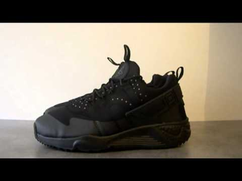 separation shoes 8a495 55413 [BensSneakersFr] Nike Air Huarache Utility black/black (806807-002) -  YouTube