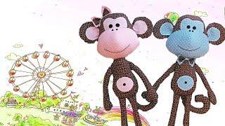 Пошив игрушки своими руками. Тильда обезьяна.