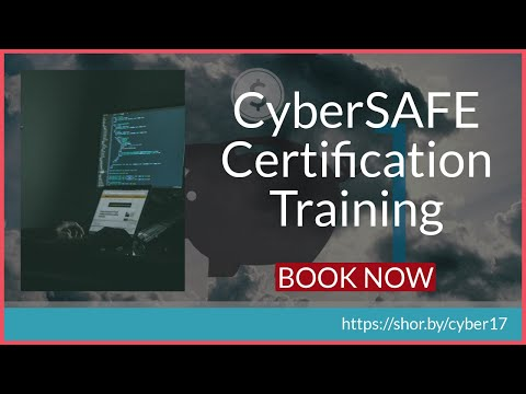 Cyber Security Training | Cyber Safe Certification | Cyber Security