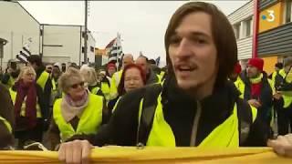 Manifestation régionale tendue des Gilets jaunes à Lorient ce samedi 9 février