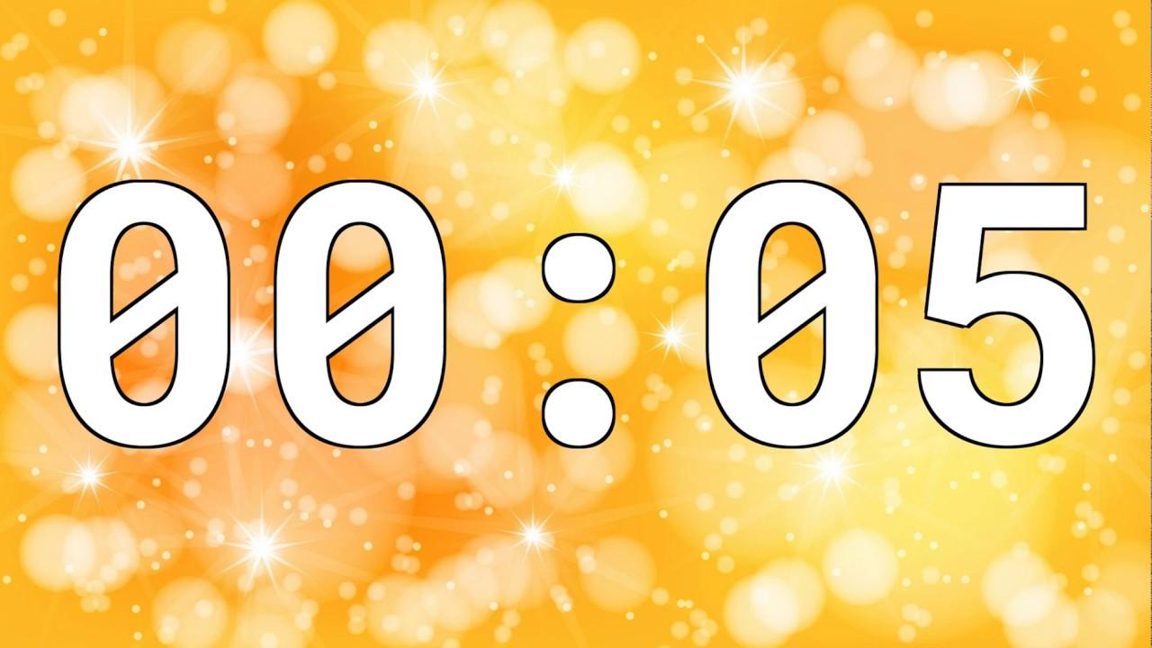 5 SECONDS TIMER