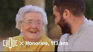 Clique x Honorine, 113 ans