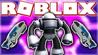 HOW TO GET THE M3G4 BOT & BLASTER!! (ROBLOX VOLTRON EVENT - FLOOD ESCAPE!)