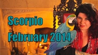 Scorpio Monthly Astrology February 2014 with Michele Knight