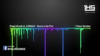 Paapi Muzik & JURGAZ - Burns Like Fire [1 Hour Version]