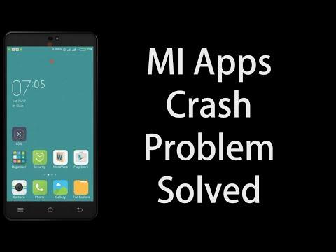Mi Apps Crash Problem Solved | Solution for Crashing of Music Player, Camera, etc