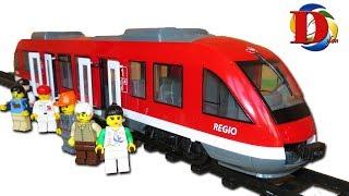 Городской поезд Dickie Toys электричка. Обзор игрушки City Train. Городской транспорт для детей