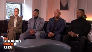 Michael Strahan Interviews The Cast Of