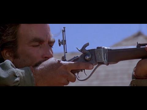 Mathew Quigley demonstrates his Sharps rifle
