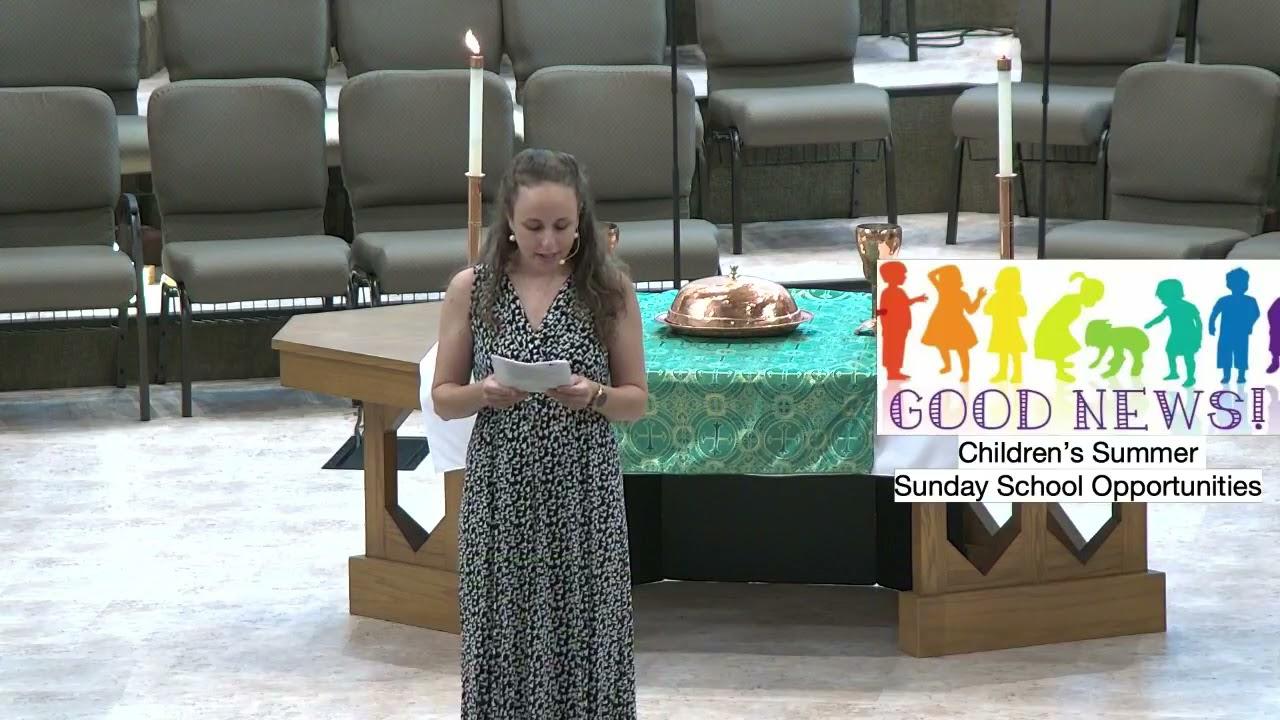 Traditional Service - Community Week 3 - Jesus's Families : June 13, 2021