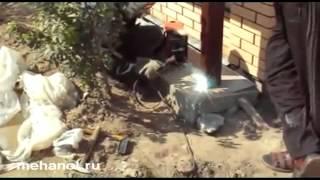 монтаж откатных консольных ворот(Строительный портал http://donosvita.org/ представляет видео о том как делать монтаж откатных консольных ворот., 2012-04-13T17:26:10.000Z)