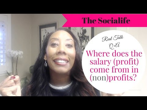 Q+A Can I make a salary as a nonprofit? My 3 tips! Rant style