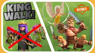 [KING LVL 15] Besser als QueenWalk = KINGWALK!?| Clash of Clans Deutsch 025| Boomer