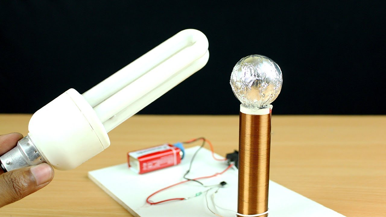 How To Make A Tesla Coil At Home Wireless Power Transfer