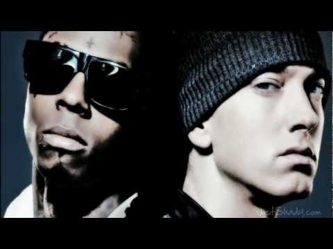Lil Wayne - Niggas In Paris (Remix) [Music Video] Ft. Eminem 2012 -DJF-