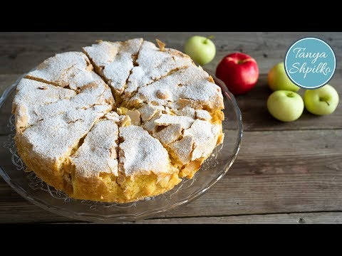 Бесподобная Шарлотка с Яблоками | Классический Рецепт | Apple Sharlotka | Tanya Shpilko