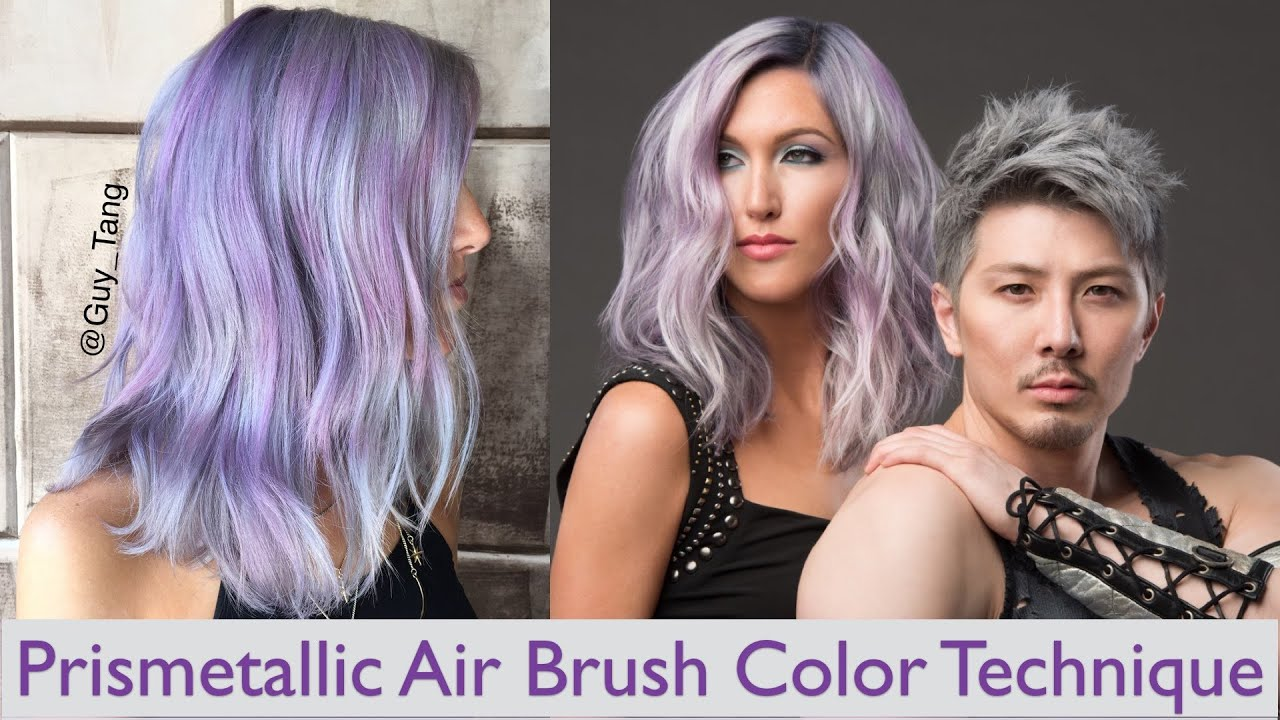 Prismetallic Air Brush Color Technique - YouTube