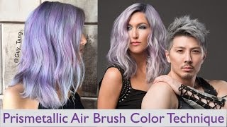 Prismetallic Air Brush Color Technique
