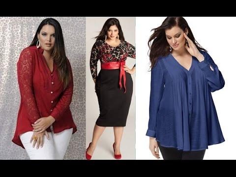 b35c39d791ad Ropa para gorditas : blusas | Moda 2019 tallas grandes