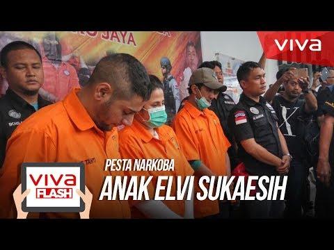 Temuan Polisi di Pesta Narkoba Anak Elvi Sukaesih