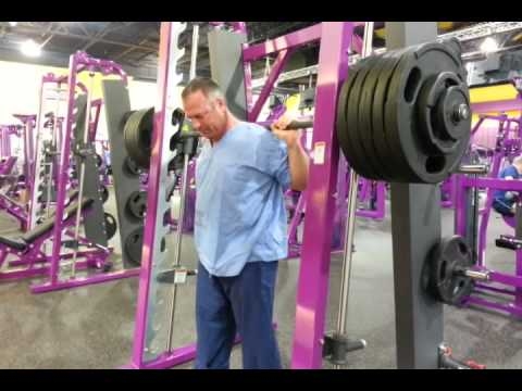 Planet fitness squat rack
