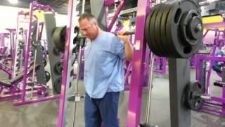 Planet fitness 500lb x2 squat