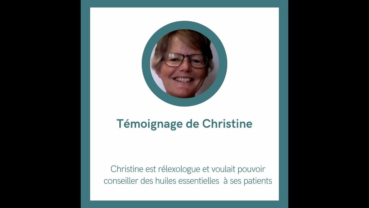 Témoignage de Christine