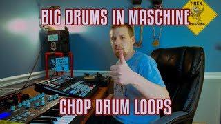 BIG DRUMS ON MASCHINE - Sampling on Maschine Studio - J-Ideas Fresh Produce