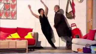 Vendredi tout est permis avec Arthur - Dany Boon danse et le décor penché avec Florence Foresti
