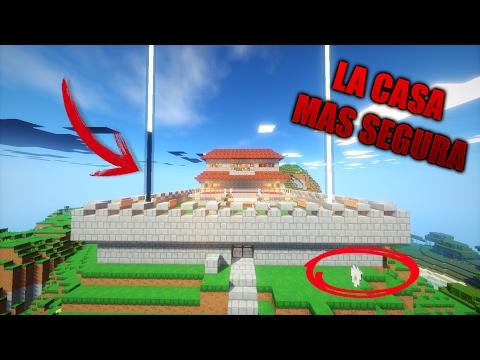 Minecraft casa mejor protegida descargable funnycat tv - La casa mas segura del mundo ...