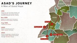 Asad's journey across Africa - a true & epic story