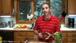 Roasted Poblano Pepper Sauce-Vinaigrette