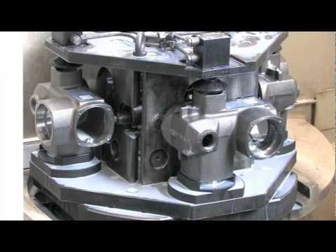 Tecnologia de fixação hidráulica AMF com braçadeiras giratórias