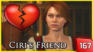 The Witcher 3 ► Bea, Ciri's Friend Flirts with Geralt #167