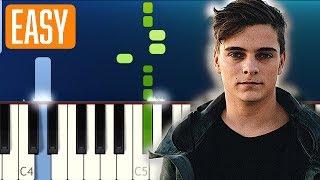 Martin Garrix, Matisse & Sadko feat. Alex Aris - Mistaken (100% EASY PIANO TUTORIAL)