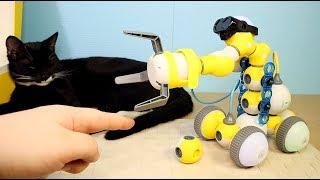 MABOT У МЕНЯ НА КАНАЛЕ НИКОГДА НЕ БЫЛО ТАКОГО КРУТОГО НАБОРА Детский конструктор робот