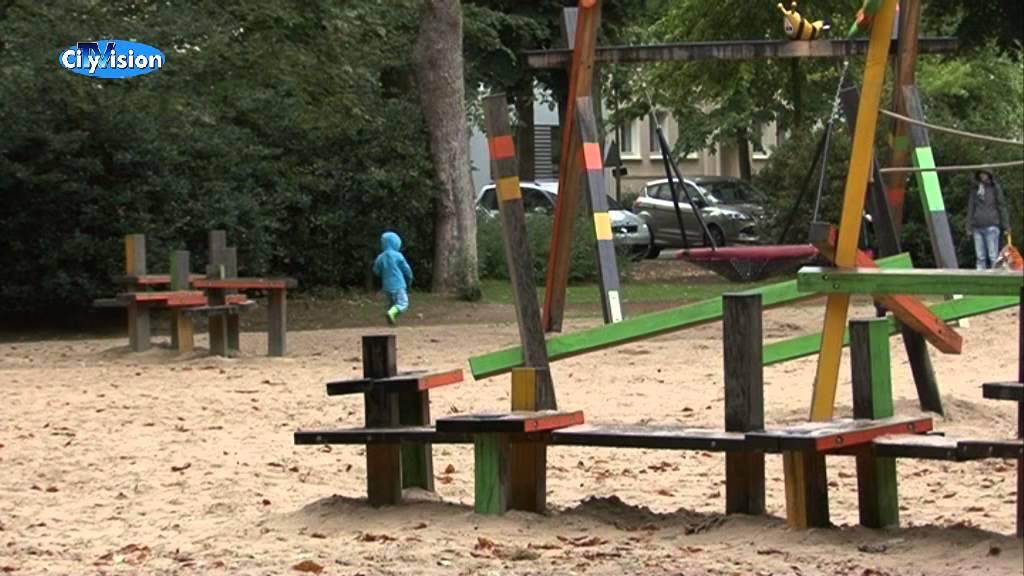 Ein Wasserspielplatz Fur Den Bunten Garten Youtube