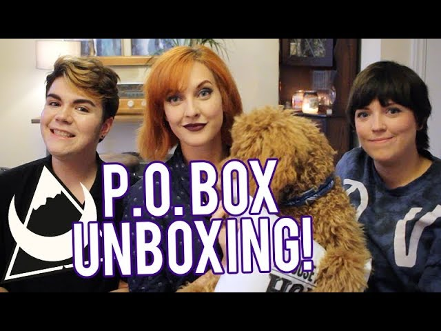 WHATS IN THE BOX??? - P.O Box Unboxing Sept 2018