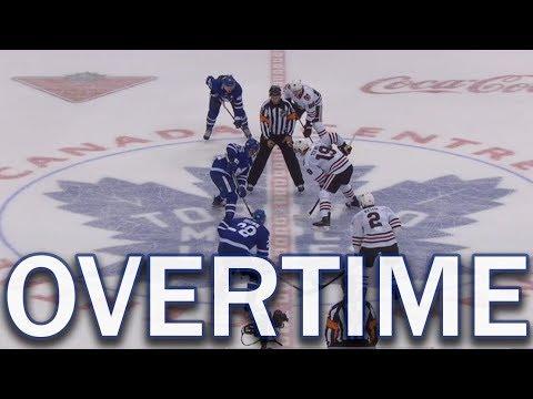 (Full Overtime) Chicago Blackhawks vs Toronto Maple Leafs - 10/09/17