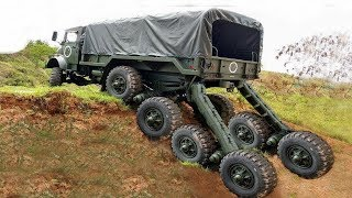 World Dangerous Idiots Truck Heavy Equipment Operator Skill - Fastest Climbing Truck Driving