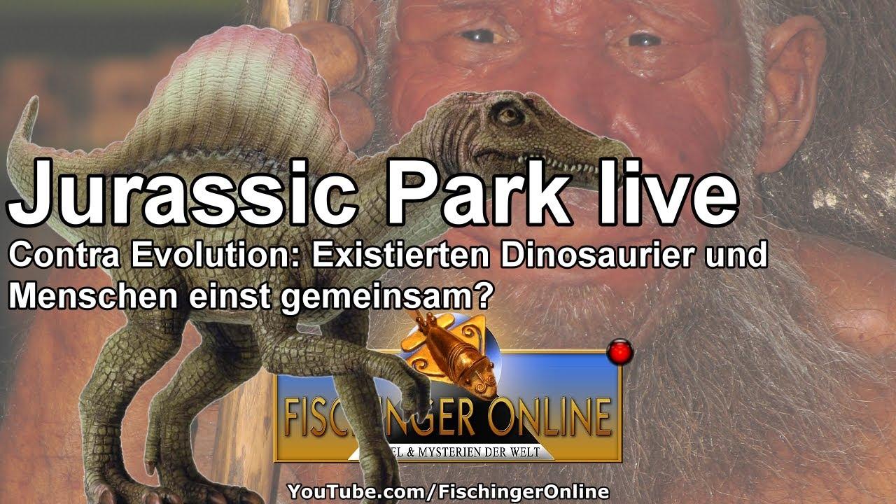 Jurassic World Live Existierten Moderne Menschen Und Dinosaurier
