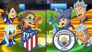 [Full HD 1080P] Inazuma Eleven UCL ~ Atletico Madrid vs Manchester City ※Pokemon Anchor※