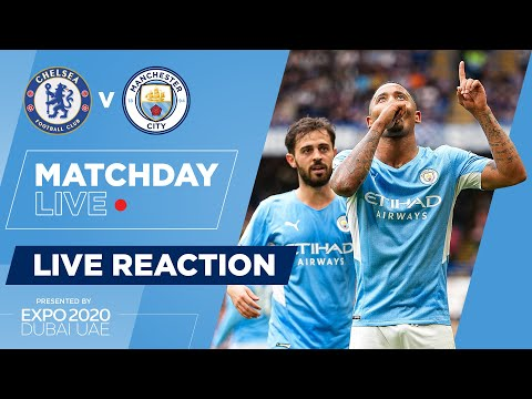 FULL TIME |  CHELSEA 0-1 MAN CITY |  PREMIER LEAGUE |  REACTION OF THE LIVE SHOW OF MATCHDAY
