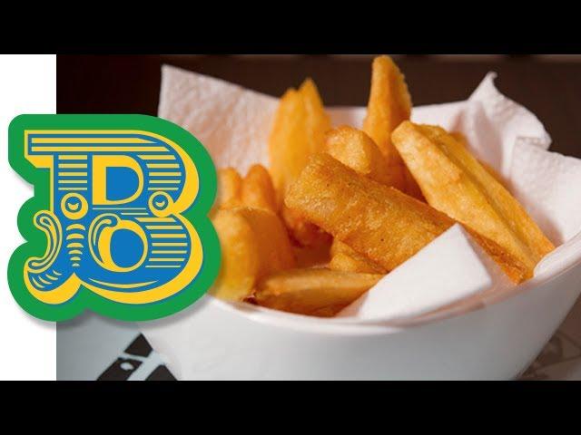 How to make Aipim Frito - Cassava Chips Recipe