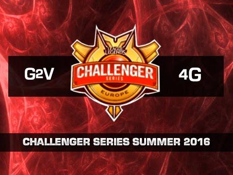 G2 Vodafone vs Team Forge - Día 5 - Challenger Series EU Summer 2016 - Español