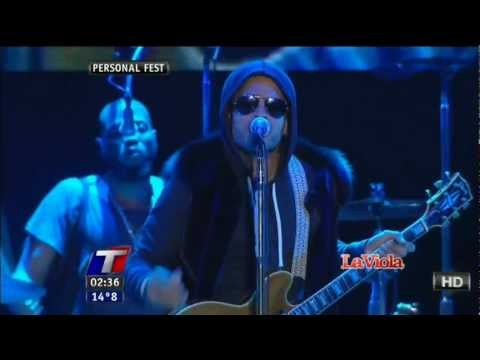 LENNY KRAVITZ - ARGENTINA 2011 HDTV - AMERICAN WOMAN - STAND